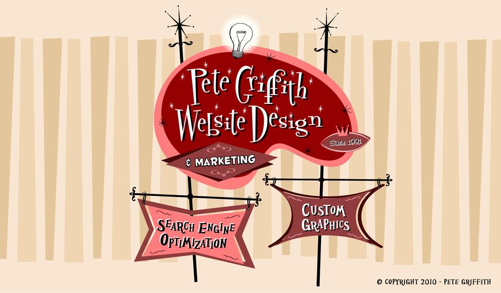 Pete Griffith Website Design Logo