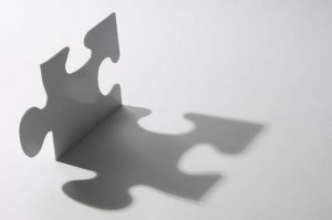 puzzlepiece shadow image
